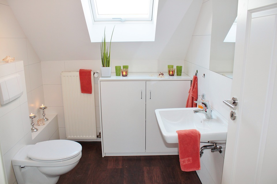 blanchissement salle de bain